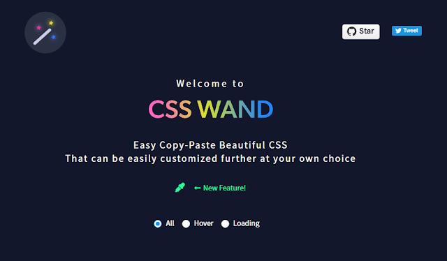 مكتبة CSS Wand
