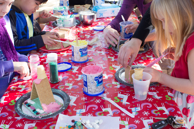 how to host a graham cracker house making party for kids- super easy and affordable!