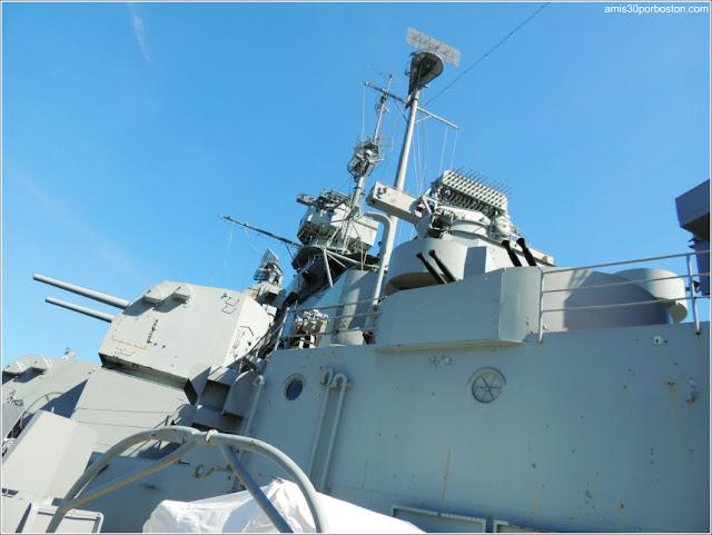 USS Massachusetts en el Museo de Battleship Cove
