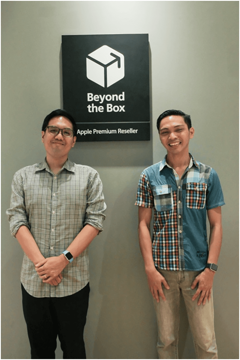 Arvin Dumo and Raffy Colico represented Beyond the Box Philippines