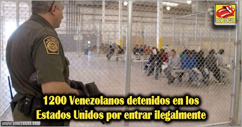 1200 Venezolanos detenidos en los Estados Unidos por entrar ilegalmente