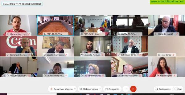Mariano H. Zapata reitera la petición de cabildos y ayuntamientos de recuperar la totalidad de los fondos del Fdcan