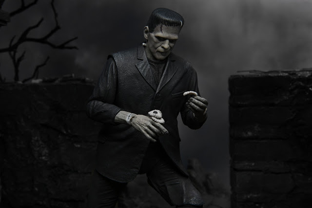 NECA Universal Monsters Ultimate Frankenstein's Monster Black and White Action Figure