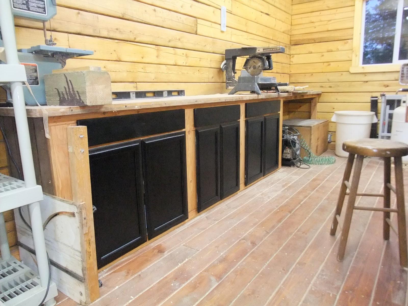 Woodwork Wood Shop Cabinets PDF Plans