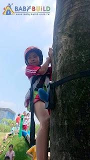 BabyBuild 猴子爬樹系統