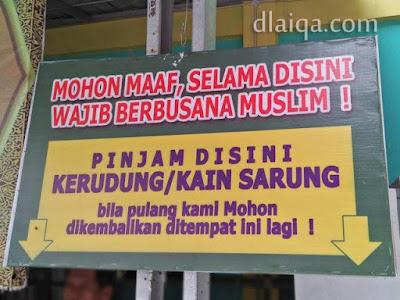 wajib berbusana muslim