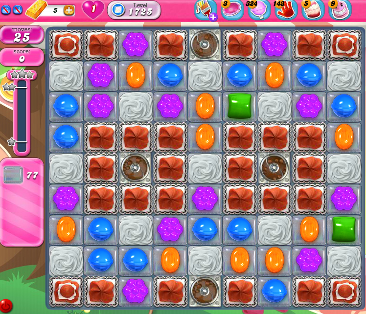 Candy Crush Saga 1725
