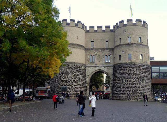 Hahnen Gate Tower Rudolfplatz Cologne