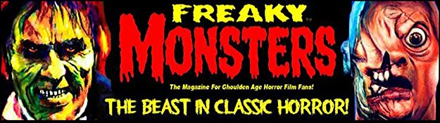 THE HOME OF FREAKY MONSTERS