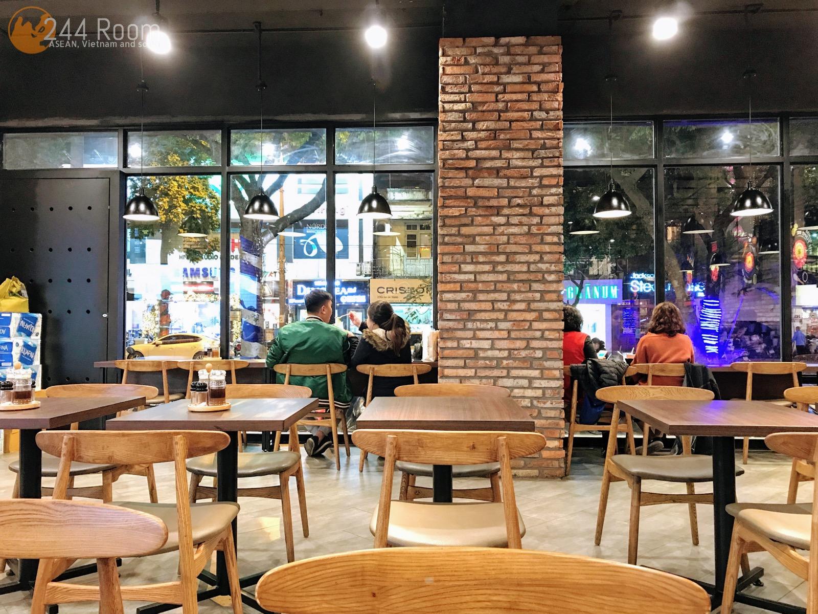 Pepper lunch hanoi ペッパーランチ店内