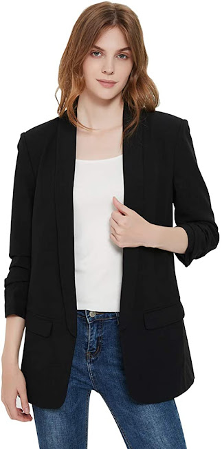 Good Quality Black Blazers For Women