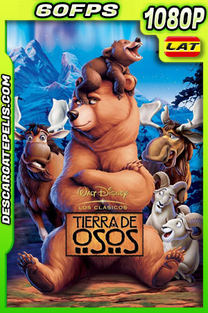 Tierra de osos (2003) 1080p 60FPS BDrip Latino – Ingles