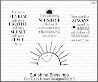 ODBD Sunshine Blessings