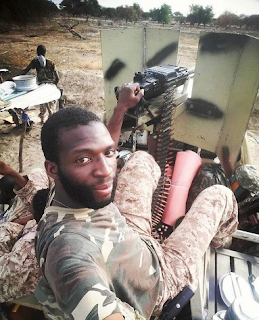 , See Nigerian Soldier Taking Selfie In North East Boko Haram Zone, Latest Nigeria News, Daily Devotionals & Celebrity Gossips - Chidispalace