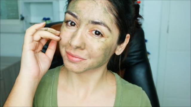 pele, pele oleosa, argila verde, dica caseira, chá de malva, máscara facial, limpeza da pele