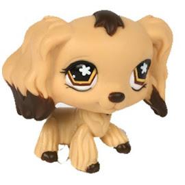 Littlest Pet Shop Singles Spaniel (#575) Pet