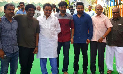 Nadamuri Kalyan Ram - Puri film launched