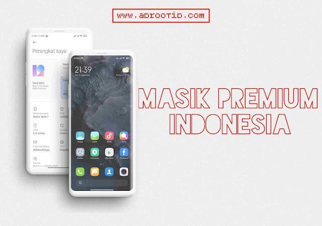 Masik Premium Mod Bahasa Indonesia for Redmi Note 7 | Lavender
