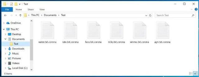 Corona Virus IQ (Ransomware)