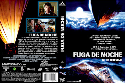 Carátula dvd: Fuga de Noche / Fuga nocturna / Night Crossing