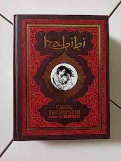 Cover Depan Graphic Novel Habibi by Craig Thompson