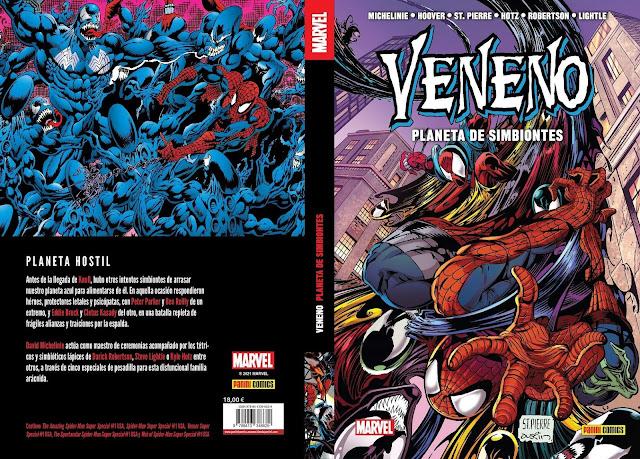 Reseña de 100% Marvel HC. Veneno: Planeta de Simbiontes - Panini Comics.