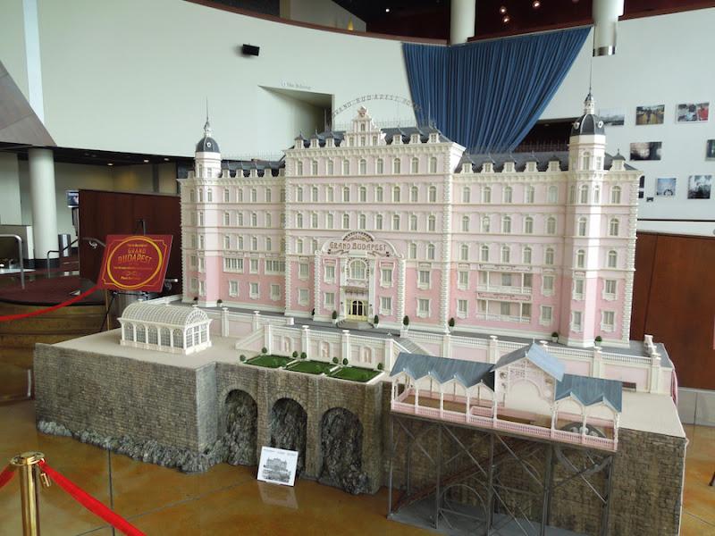 Grand Budapest Hotel miniature model