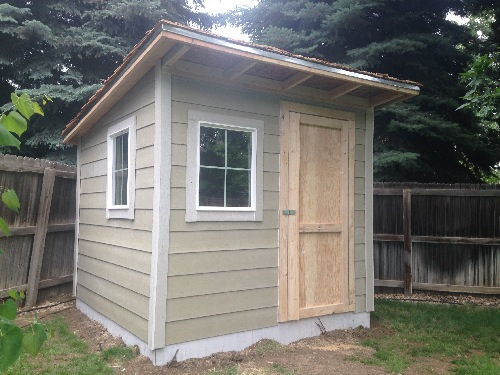 4x6 Lean To Roof Tool Shed Assembly Plans What You Need To