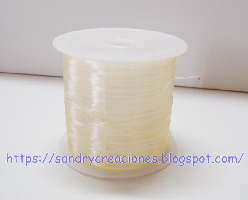 hilo silicona elastic transparente