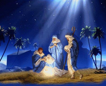 božićna čestitka animacija Božić i Nova godina: Božićne jaslice božićna čestitka animacija