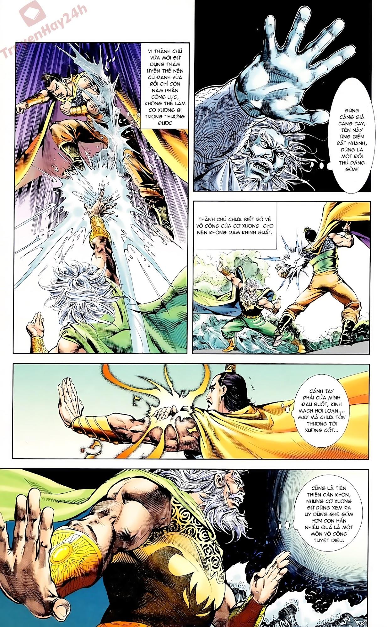 Cơ Phát Khai Chu Bản chapter 61 trang 4