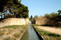 Las esclusas de Valdegurriana.