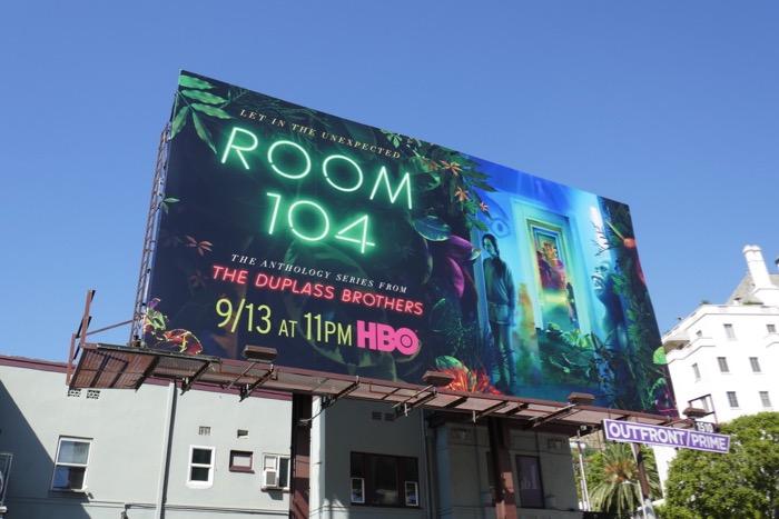 Room 104 season 3 HBO billboard