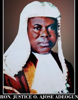 justice ajose adeogun dead
