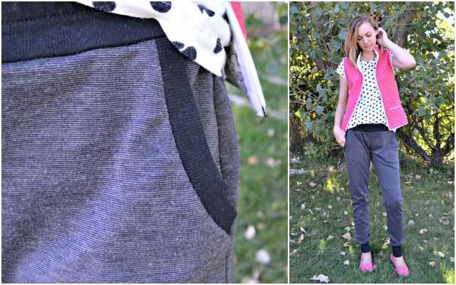 Me Made: DIY Quilted Vest and Hudson Joggers