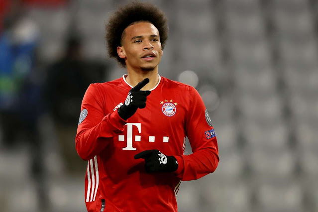 Pep raised me to a completely new player - Leroy Sane