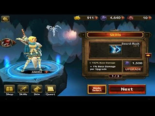 BLADE WARRIOR 3D Mod Apk v1.4.1 Full version