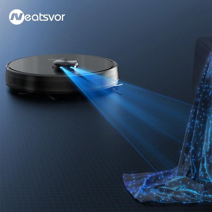 Laser Navigation Robot Vacuum Cleaner