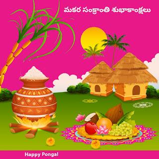 Makara Sankranti festival Wishes in Telugu images.jpg