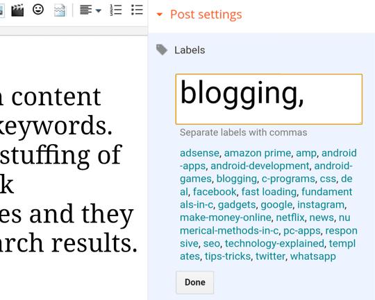 blogspot-labels