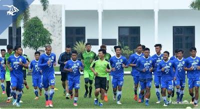 23 Pemain Persib Bandung Ikuti Pemusatan Latihan di Yogyakarta