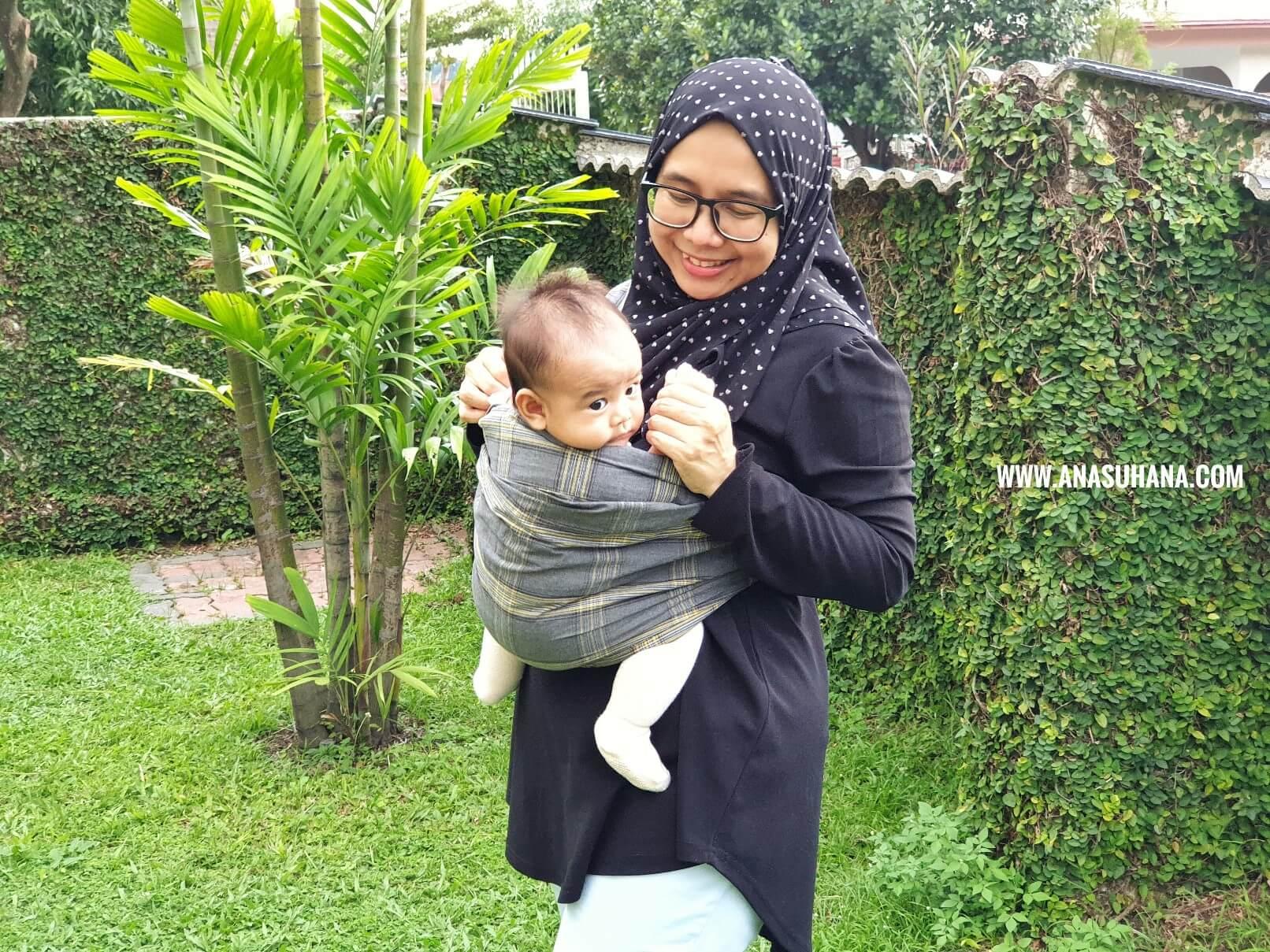 Tips Atasi Bayi Kuat Menangis Dengan Mamaway Baby Sling Carrier