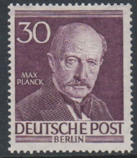 Germany (Berlin) - 1953, 30pf Max Planck stamp