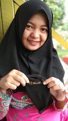 jilbab intan untuk pipi tembem