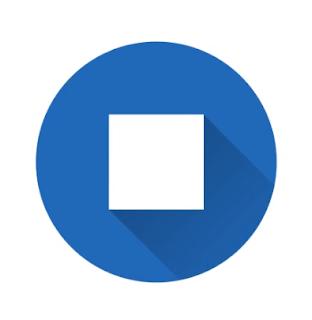 Logo sederhana material desain