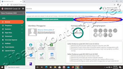 Cara Sinkronisasi EDS PMP 2020 - Covid 19