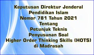 Juknis Penyusunan Soal HOTS di Madrasah