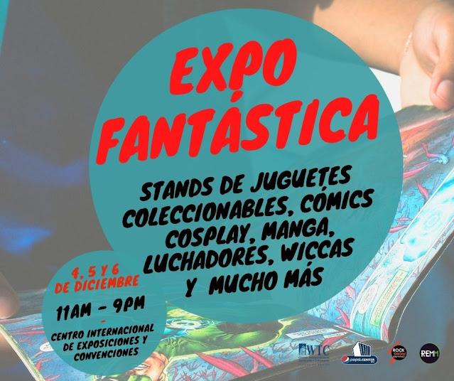 Celebrarán la primera edición de Expo Fantástica en el WTC en diciembre