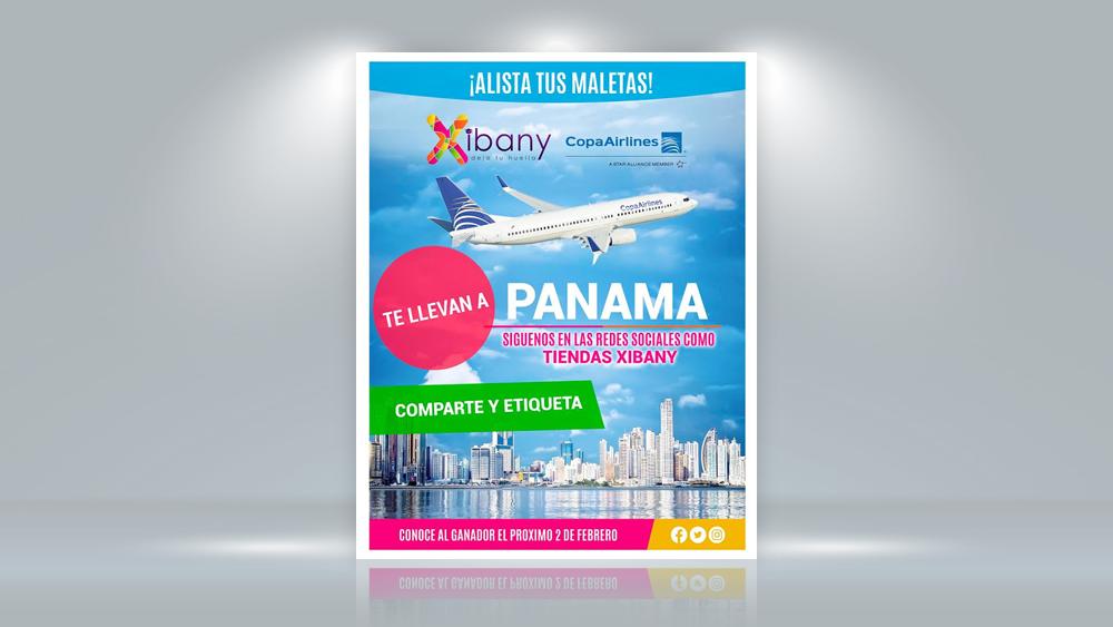 Publicidad Viaje a Panamá de Xibany