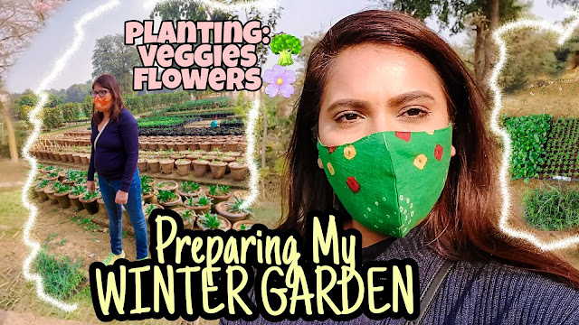 Shopping At Sunder Nursery,Winter garden Preparation, glowing vegetables at home, growing winter flowers, sunder nursery tour, fab cafe sunder nursery, winter garden india, growing plants in small spaces